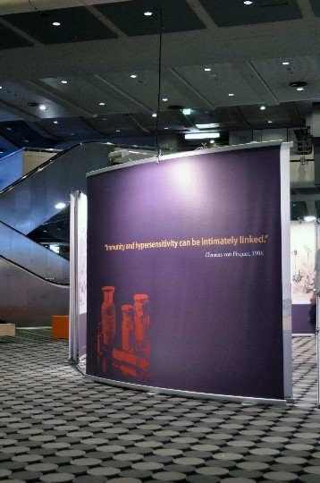 Messebau -Immologie Kongress