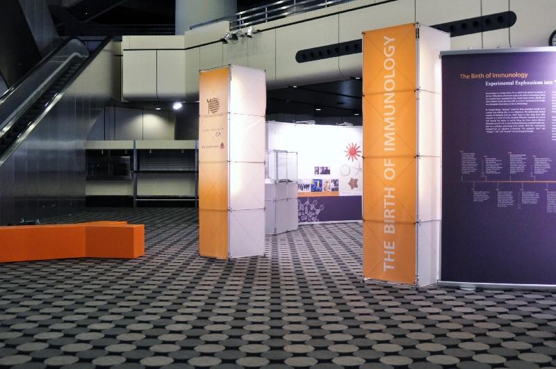 Messebau -Immunologie Kongress