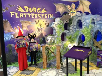 Burg Flatterstein Stand: Event Agentur creative Service Drummer, Berlin
