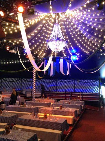 Deckengestaltung Beleuchtung: Event Agentur creative Service Drummer, Berlin