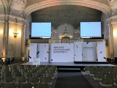 Demokratiekongress: Event Agentur creative Service Drummer, Berlin