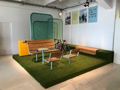 Gras auf Ausstellungsfläche: Event Agentur creative Service Drummer, Berlin