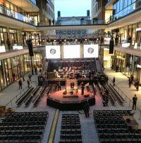 Grossevent L1 Bestuhlung, Bühne: Event Agentur creative Service Drummer, Berlin
