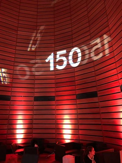 ITB Lichtinstallation: Event Agentur creative Service Drummer, Berlin