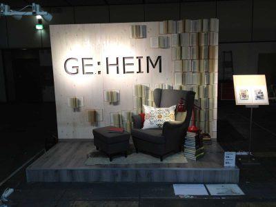 Geheim Installation: Event Agentur creative Service Drummer, Berlin