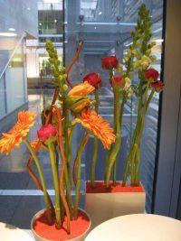 Blumengesteck Kanadische Botschaft: Event Agentur creative Service Drummer, Berlin