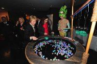 leuchtendes Spiel Kanadische Botschaft: Event Agentur creative Service Drummer, Berlin